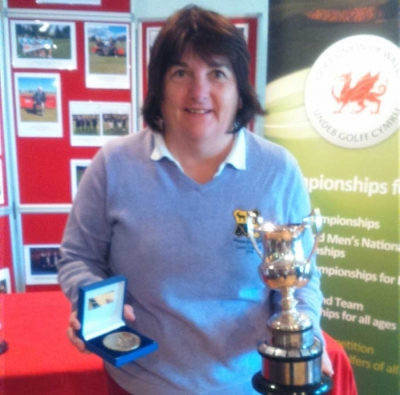 Cathryn's wonderful success at Welsh Ladies Senior's Open