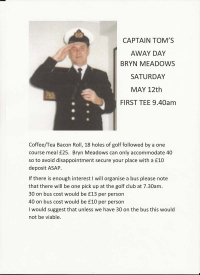 Captain's Away Day