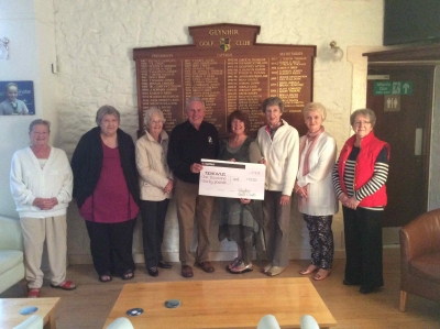 Presentation to members of local Tenovus committee