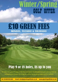 Winter / Spring Golf Offer